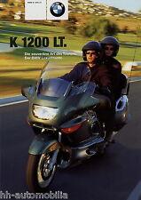 PROSPEKT BMW K 1200 LT 8 00 prospetto MOTO 2000 MOTO BROCHURE MOTO BIKE
