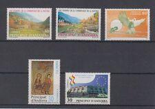 ANDORRA SPAGNOLA (1995) ANNO COMPLETO NUOVO SENZA LINGUELLE MNH - EDIFIL 246/50