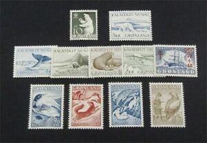 nystamps Greenland Stamp # 39//75 Mint OG NH $42   A30y280