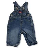 OLD NAVY Baby Blue Jean Denim Shortalls Shorts Overalls 3-6 Months