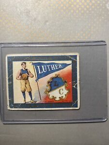 Murad T51 College Series Tobacco Cigarette Card  Luther College Basketball
