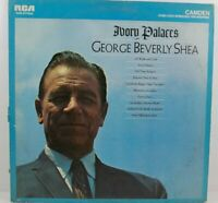 "George Beverly Shea Ivory Palaces Christian Gospel Music 12"" LP Album Vinyl"