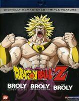DragonBall Z: Broly Triple Feature (REGION A Blu-ray New) BLU-RAY/WS