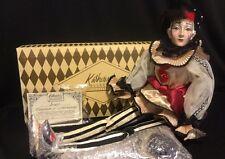 "Katherine's Collection Wayne Kleski Rare Retired 26"" Jacques Pierrot Doll NOS"