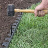 8 Inch Outdoor Landscape Border Garden Lawn Flower Bed Edging STAKES Fits Dimex