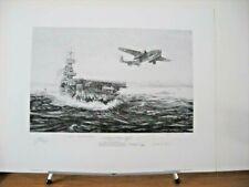 Avenging Strike 8 Doolittle Raider Signatures Robert Bailey Signed Aviation Art