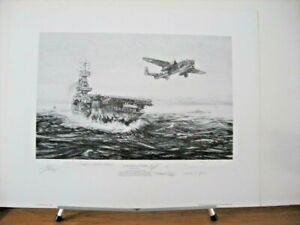 Avenging Strike Tokyo Doolittle Raiders Robert Bailey 8 Crew Signed Aviation Art