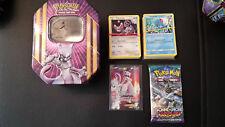 Pokemon TIN-Box inkl. 2x 50er Kartenpack + 2 Booster + 1x EX/GX od. Promo