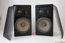 Braun SM 1004 Lautsprecher Vintage Speaker Boxen 80/140 Watt gecheckt schwarz