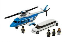 LEGO CITY SET 3222 HELICOPTER AND LIMOUSINE.  COMPLETE WITH MINI FIGURES