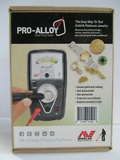 Minelab Pro Alloy Gold & 00004000  Platinum Tester Complete In Box Great Condition!