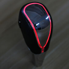 Touch Activated Red LED Light Gear Shift Shifter Lever Knob Built-in Battery New