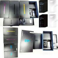 Samsung Galaxy Note 9 8 S8+ S9 S9+ Empty Retail box Full Accessories Screen SEAL
