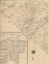 Chappaqua Millwood New Castle Glendale NY 1911 Maps with Homeowners Names Shown