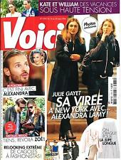 VOICI N°1375 14 MARS 2014  JULIE GAYET/ M POKORA/ N.BEDOS/ KATE&WILLIAM/ MINOGUE