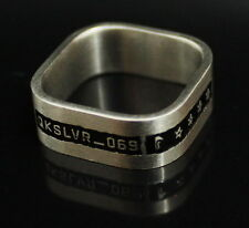 QUIKSILVER   ROXY   BAGUE  RING  SILVER   TAILLE 64   JWR002 NEUF ,  AUTHENTIQUE