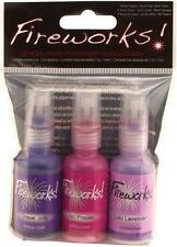 FIREWORKS! JUICY PURPLES Tsukineko Craft Ink Spray GRAPE JELLY LILAC LAVENDER