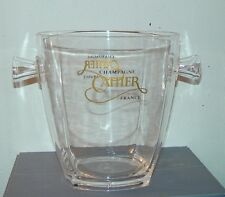 secchiello ghiaccio/ice bucket/seau à glace Champagne Cattier in policarbo