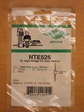 NTE525 ECG525 GE-533 SK3925 Si Diode High Voltage Rectifier Fast Recovery Sw NEW