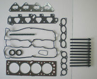 HEAD GASKET SET BOLTS ASTRA VECTRA ZAFIRA 1.6 16V 98-04 X16 Y16 C16 VRS HOLDEN