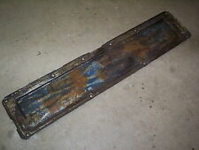 1958-1961 Chevrolet Impala Belair 235 engine motor side panel cover 6 cylinder
