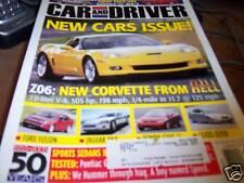 Car & Driver Magazine 10/2005 Z06: Corvette from HELL