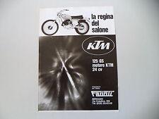 advertising Pubblicità 1975 MOTO KTM GS 125