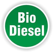 Biodiesel Aufkleber Sticker 8 cm Bio Diesel Bagger LKW Transporter Dieselklau