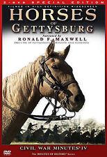 Horses of Gettysburg - Civil War Minutes IV (DVD, 2 DISC Box Set)