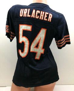 Reebok Youth Jersey Brian Urlacher Chicago Bears #54 Football On Field Size M