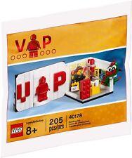 LEGO 40178 VIP Polybag Exclusive - Original 100% Colector Colección NUEVO / NEW