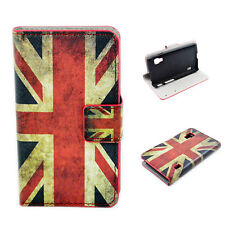 Stylish PU Leather Phone Stand Wallet Case Cover For LG Optimus L5 II Dual E455