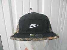 NIKE MOSSY OAK CAMOUFLAGE 5 PANEL SEWN STRAPBACK CAP HAT NEW W/ TAGS