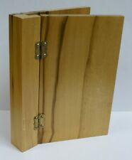 Olive Wood Hinged Book Covers