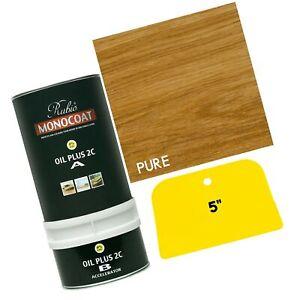Rubio Monocoat Zero VOC 2 Component Oil Finish Pure (350 mL) 350 ml