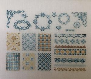 Cross Stitch Chart - Sampler