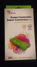 Brook Game Controller Adapter Xbox 360 wired to Playstation 4 PC Turbo Custom