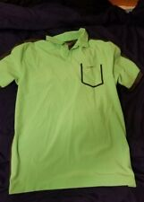 size medium men nike golf drifit performance polo shirt short sleeve