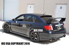 HIC USA 2011 to 2013 Impreza 4dr sedan rear window roof visor spoiler
