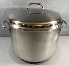 Farberware Aluminum Clad Stainless Steel 16 Quart Stock Pot & Lid
