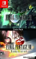 NINTENDO SWITCH - FINAL FANTASY VII & VIII REMASTERED TWIN PACK BRAND NEW SEALED