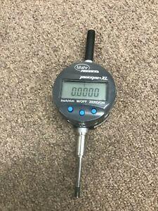 "Mahr Federal 0-1"" umaxum XLI 20000 Digital Indicator 0.0002"" Mitutoyo"