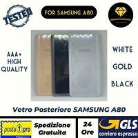 🔝 Vetro Posteriore Scocca Copertura Batteria Back Cover Samsung Galaxy A80