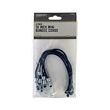 4 Pack 10 Inch Mini Bungee Cords
