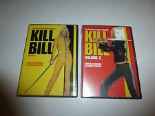 Kill Bill 1 & 2 [One,Two] Quentin Tarantino*Uma Thurman Martial Arts Dvd B68