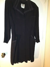 Black Richard Taylor/Bergdorf Goodman Dress Womens Size 10