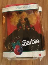 BARBIE Doll1993 Happy HOLIDAY Treasure in velvet and jewels