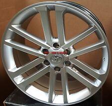"22"" Toyota Wheels Silver Rims Tires 4 Runner Sequoia Tacoma FJ Crusier Tundra 24"
