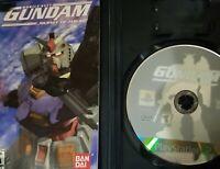 Mobile Suit Gundam: Journey to Jaburo Playstation 2 PS2 - Complete