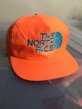Vintage 80s The North Face Neon Embroidered Trucker Style Hat Cap Ski 90s Rare